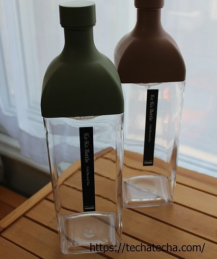 HARIO カークボトルはすごい!割れない、耐熱、横置きできる!