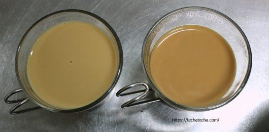 茶液ミルク