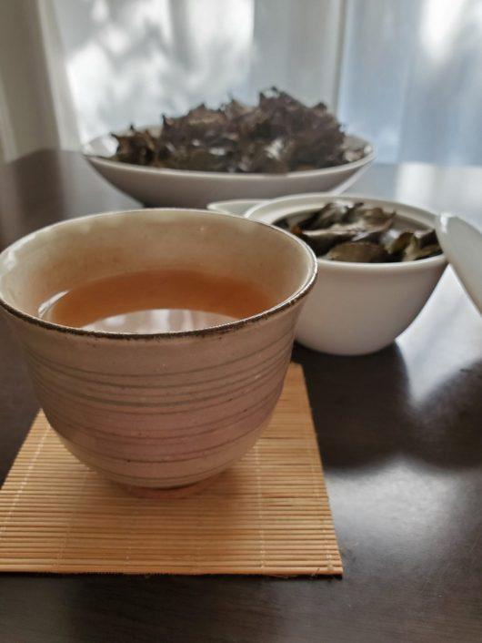 自家製京番茶