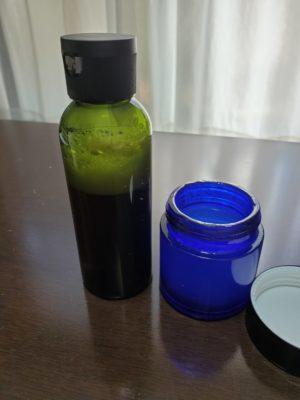 チンキ化粧水完成