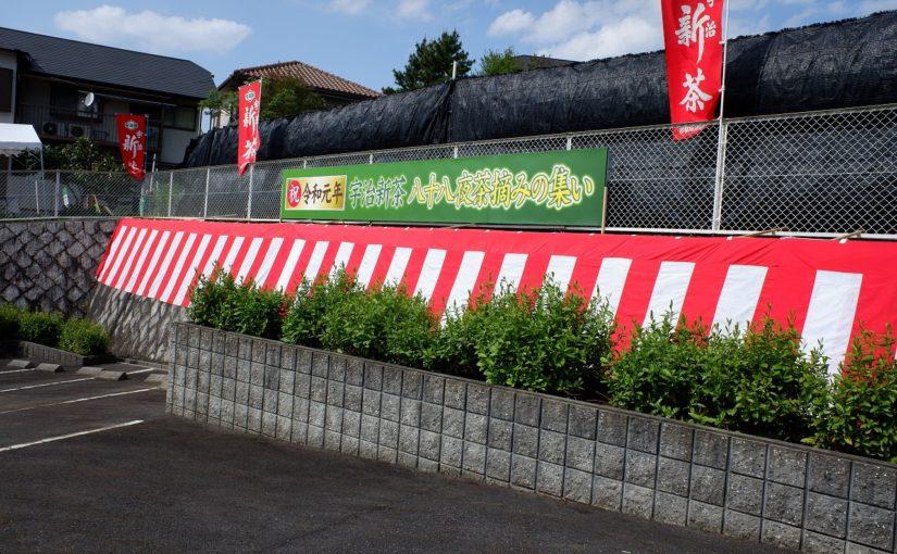旅の思い出2019年5月-京都府茶業研究所①(玉露の本ず栽培)-